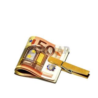 Money-bundle / Geldbündel