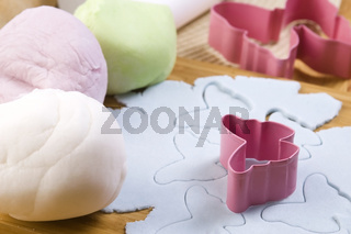 Homemade frosting decoration