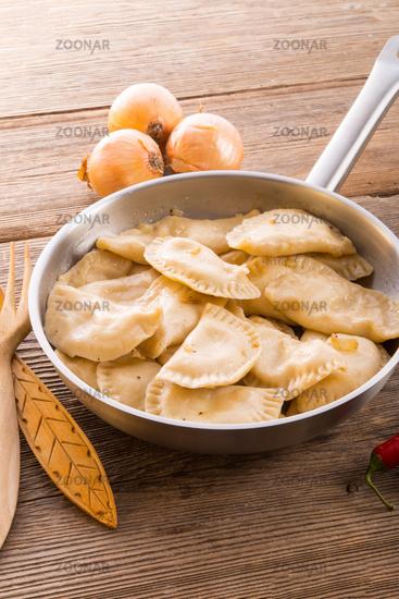 Pierogi.Polish dish