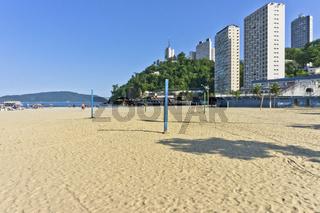 Sao Paulo, Sao Vicente  Tropical Beach, Brazil, South America