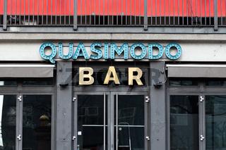 Bar in Berlin. Deutschland