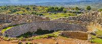 Mycenae City, Peloponnese, Greece