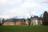 Grosse Burg Kleinbüllesheim, Wasserburg aus dem 18. Jahrhundert