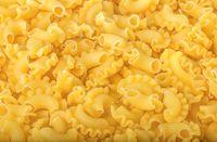 Figured pasta background