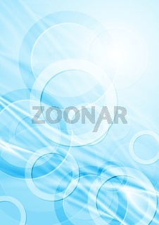 Light blue abstract background. Vector illustration eps 10