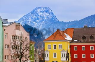 Town Kufstein in Austria