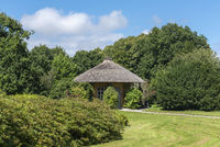 Freundschaftstempel im Landschaftsgarten und Schlosspark Lütetsburg