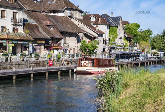 Chanaz und sein Canal de Savière, Savoie
