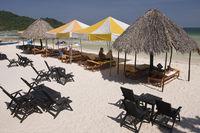 Südseestrand Bai Sao Beach im Süden der Insel Phu Quoc, Vietnam, Südostasien
