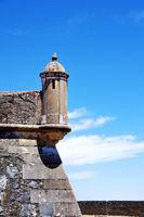 Wall of fort of Graça, Elvas