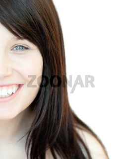 Portrait of a bright young woman
