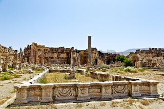 Great Court  - Baalbek, Lebanon
