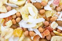nut mix close