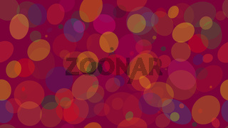 Vector colorful seamless pattern from multicolored circles. Festive pattern from confetti for printing on fabric. EPS 10.