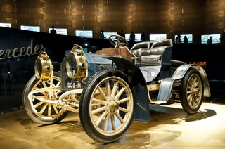 Mercedes-Simplex im Mercedes Benz Museum Stuttgart