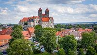 Landscape with Abbey of Quedlinburg
