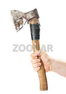 Hand old axe