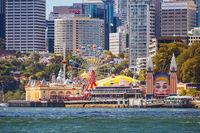 Luna Park in Sydney Australia