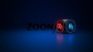 H2 Hydrogen CO2
