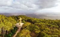 Mount Macedon Memorial Cross in Australia