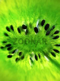 Candied kiwi close-up green kiwi dried fruits