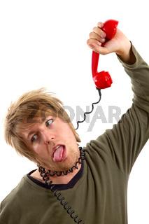 Phone hang