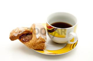 Kaffee mit Gebaeck