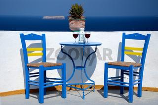 Oase der Entspannung - Santorin - Griechenland