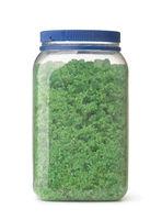 Jar of green aroma dead sea salt
