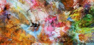 texturen abstrakt gewischt rakel hintergrund banner