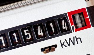 Stromzähler im Haushalt