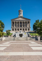 Steps leading to the State Capitol building in Nashville, Tennessee