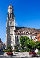 Church tower of Noerdlingen