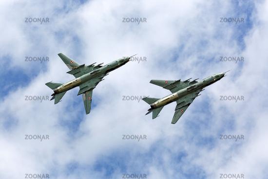 Suchoi Su-22 - Luchtmachtdagen 2013 in Völkel.