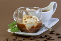 Affogato (Italian for