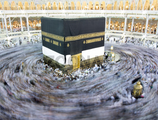 Journey to Hajj in holy Mecca 2013, high quality photo