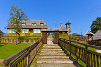 Traditional village Drvengrad Mecavnik - Serbia