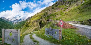 Berglandschaft im Passeiertal, Südtirol, Italien