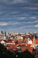 City of Bratislava Cityscape in Slovakia