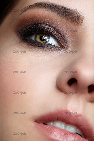 Beauty portrait of young woman.