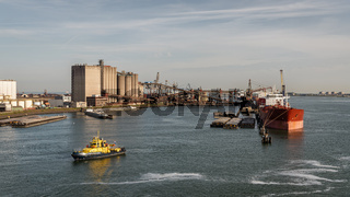 Europort, Port of Rotterdam, South Holland, Netherlands