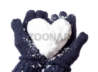 Lady's glove and snow heart