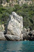 Küste bei paleokastritsa, Korfu