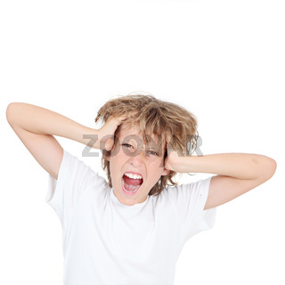 frustration, angry frustrated kid shouting
