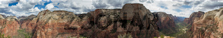 Panorama of Zion National Park