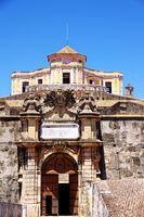 Entrance of Fort of Graça, Elvas, Portugal