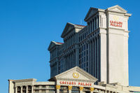 LAs VEGAS, NEVADA, USA - AUGUST 1 : View of Caesars Palace Hotel in Las Vegas Nevada on August 1, 2011