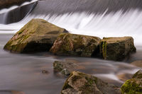 Sulz creek close to Lindlar, Bergisches Land, Germany