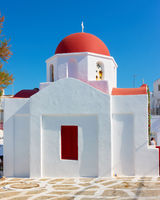 Greek church in Mykonos
