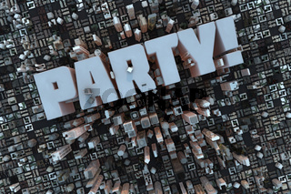 Party in der 3D City